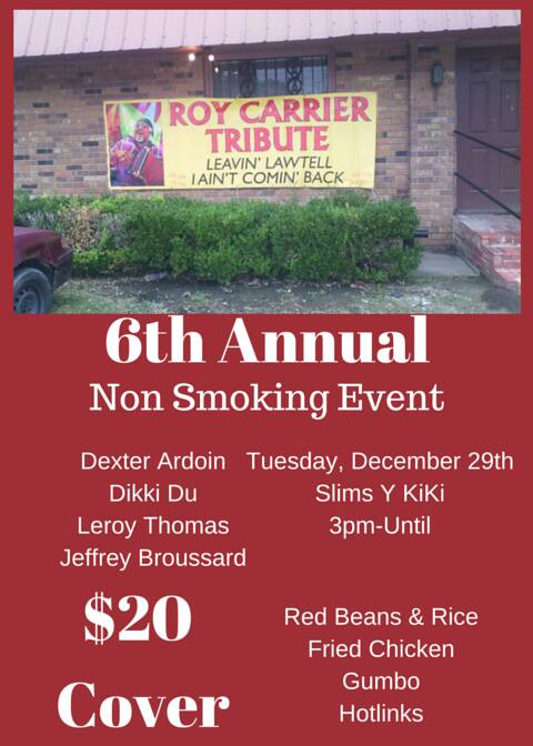 6th Annual Roy Carrier Tribute